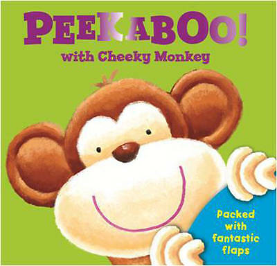 1 of 1 - Peekaboo with Cheeky Monkey: Packed with Fantastic Flaps (Peek a Boo Flap Books)