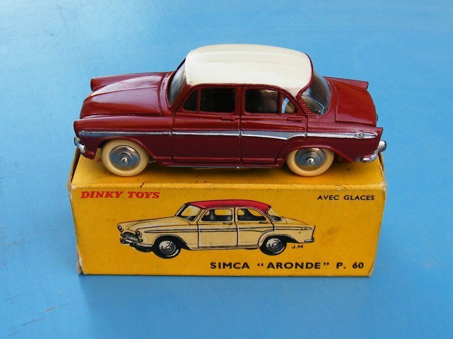 FRENCH DINKY TOYS No.544 SIMCA ARONDE ORIGINAL BOXED EX +