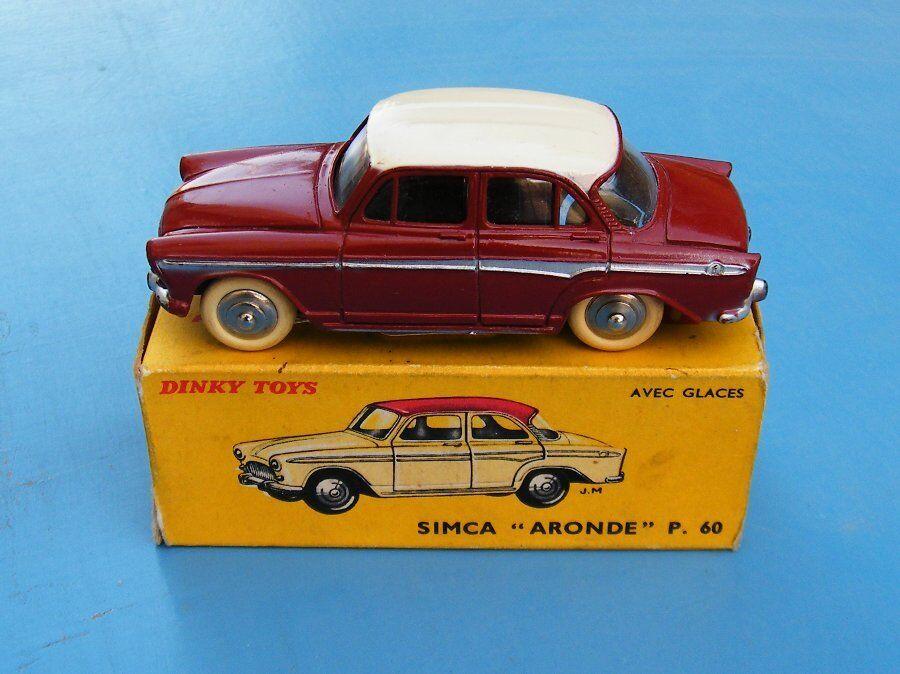 French Dinky Toys No.544 Simca Aronde Original Boxed EX+