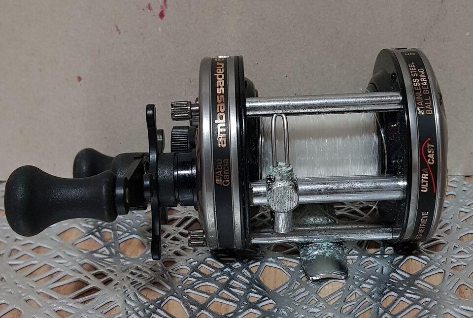 Multihjul, ABU Anbassadeur 6000-c