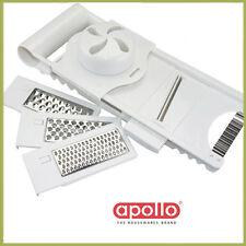 Apollo Multi Grater Food Slicer French Shredder Crinkle Cutter Professional Tool
