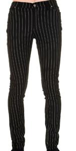 Punk New '60 Mod skinny '80 anni Retro anni gessati Indie neri Jeans Stile Mens wg1qWHdIRI