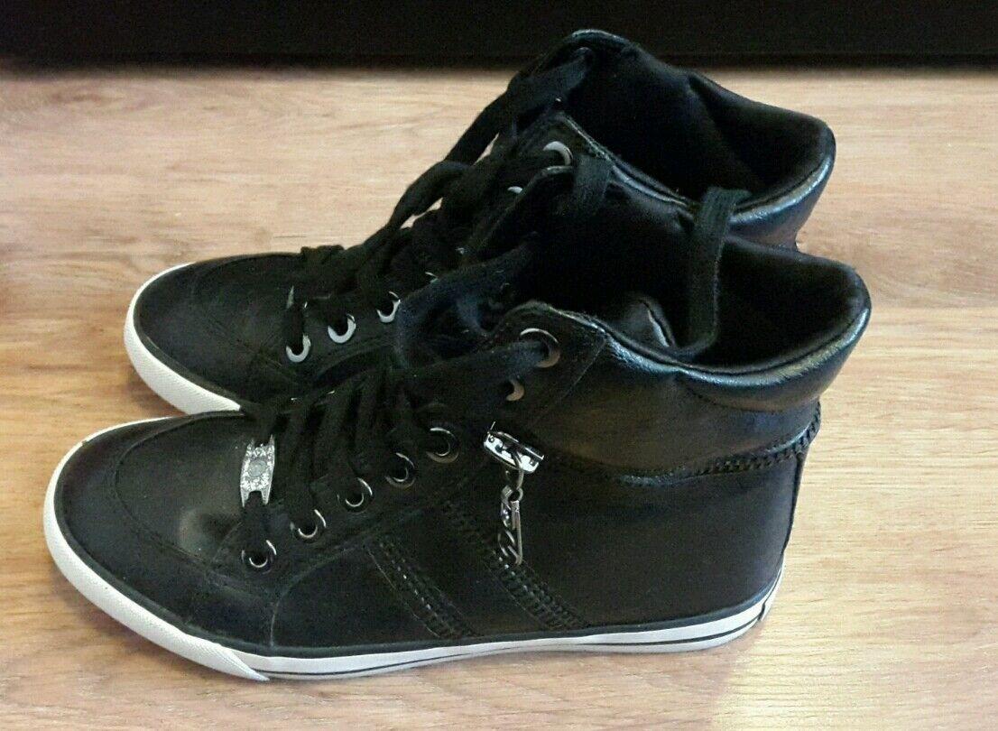 GUESS Größe Sneaker schwarz, Größe GUESS 36 dec2b8