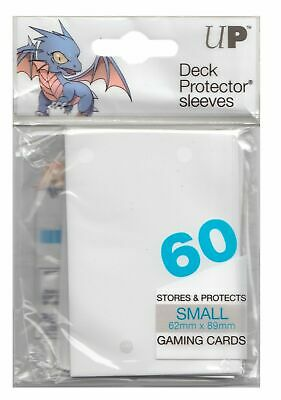 Small PRO-MATTE Ultra-Pro CLEAR Card Sleeves 60ct NEW! 10x PACK Yugioh
