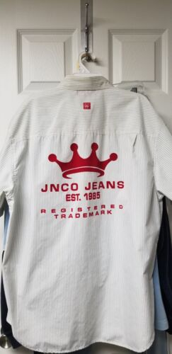 JNCO vintage BOWLING SHIRT VERY RARE! GREAT condit