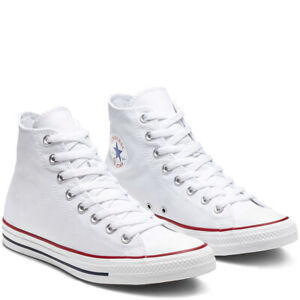 CONVERSE-Chuck-Taylor-All-Star-Classic-High-Top-Scarpe-Sneakers-WHITE-M7650C