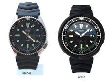 Black Tuna DRAGON SHROUD watch mod part for 7002 & 6309 (slim case) Seiko Diver