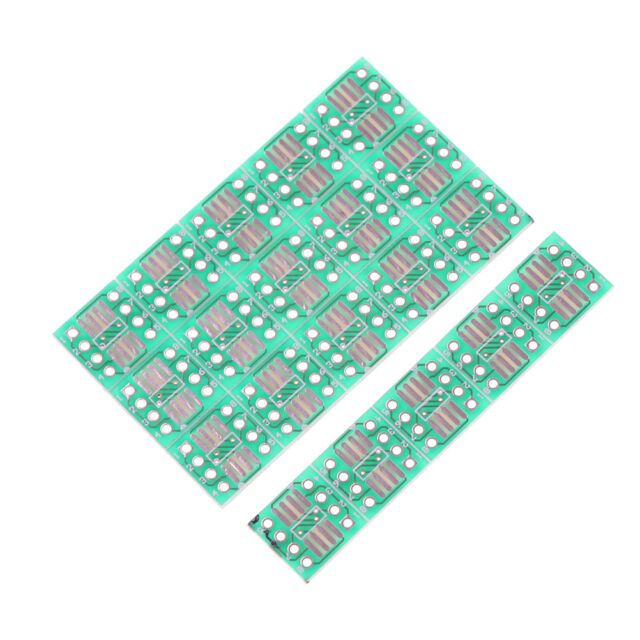 20PCS SOP8 SO8 SOIC8 TSSOP8 MSOP8 to DIP8 Adapter PCB DIY Conveter Board NAHAdn