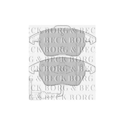 VW Touran 1T1 1T2 2.0 TDI Genuine Borg /& Beck Front Brake Pads Set