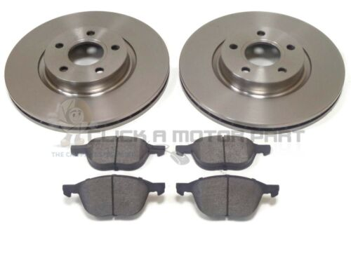 CHECK SIZE 278MM ONLY VOLVO C30 COUPE 06-14 FRONT 2 BRAKE DISCS /& PADS SET