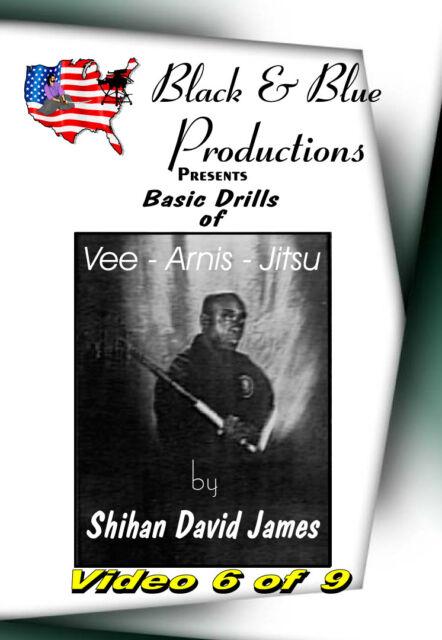David James - Vee-Arnis-Jitsu DVD #6 Vee Jitsu'te Drills Sets 1 - 3