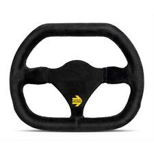 """MOMO MOD 27 CUT Suede Steering Wheel 270mm Free MOMO Suede Brush /""""US Dealer/"""""""