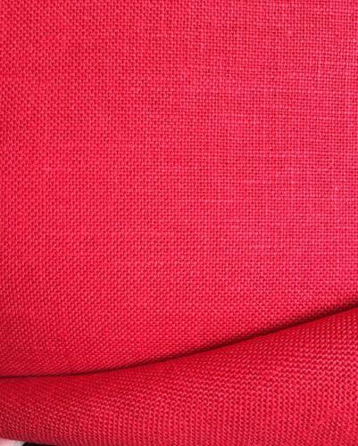 Rojo Navidad 32 count Evenweave Tela De Lino Belfast Zweigart opciones de tamaño
