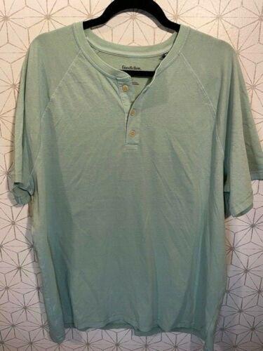 Goodfellow Short Sleeve Button-Down Henley T-Shirt Men/'s Choose Size /& Color