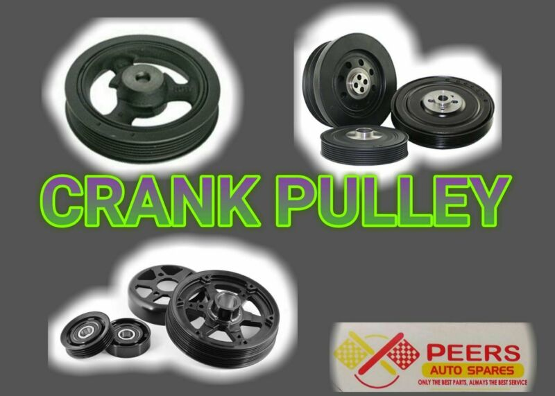 CRANK PULLEY FOR MOST VEHICLES