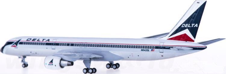 1 400 Aeroclassics DELTA BOEING 757-200 Passenger Airplane Diecast Plane Plane Plane Model 5a9c9d