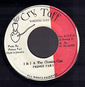 PRINCE-FAR-I-I-amp-I-A-The-Chosen-One-RARE-REGGAE-VINYL-SINGLE-7-034-JAMAICA