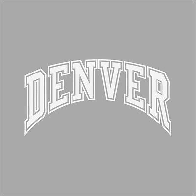 Denver Pioneers #3 NCAA College Vinyl Decal Sticker Car Window Wall
