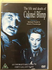 THE LIFE AND DEATH OF COLONEL BLIMP ~ 1942 Powell / Pressburger Classic | UK DVD