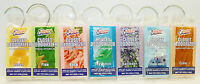 6 Closet Deodorizer & Freshens Air Scents Selection Of Fragrances Hooks For Moth