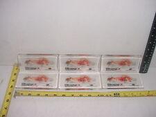 (6) Six Lucite Paperweights Pfizer Vibramycin Doxycycline w/ Lab Rat  TCBC-67A