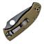 Spyderco Tenacious Lightweight OD Green FRN Plain Edge EXCLUSIVE C122PODBK