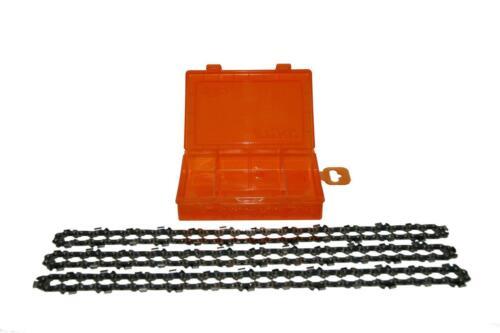 3 x Sägekette 3//8x1,3 52E 35 cm für CMI 2115 Box Neu