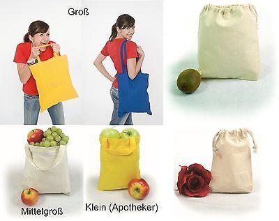 Baumwolltasche Stofftasche Stoffbeutel Kurze u.Lange Henkel Ein Henkel Apotheker