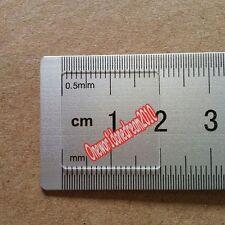 1-10pcs 1mm*10mm-100mm Ultraviolet JGS1 Silica Quartz Glass Square Sheets Plate