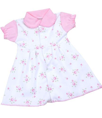approx. 3.40 kg Babyprem Vestido de bebé prematuro Pequeño neonatal ropa Pink vestidos 1.5-7.5 lb