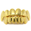 Gold-Plated-Hip-Hop-Teeth-Grillz-Top-amp-Bottom-Grill-Mouth-Teeth-Grills-Gangster thumbnail 4