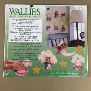 pitter patter nursery rhymes wallies wallpaper cutouts