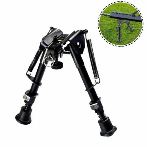"6-9"" Tactical Gun Rifle Bipod Adjustable Spring Return Sniper Sling Swivel Mount"