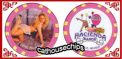 Donna/'s Ranch Wells Nevada FREE SHIPPING Brothel Chip