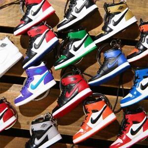 Air-Jordan-1-AJ-1-Off-White-Handcrafted-3D-Mini-Sneaker-Keychain-Figure-w-Box