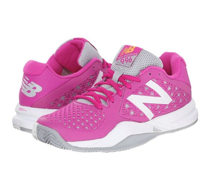 New Balance WC996GP2 - Women's 996v2 Lightweight Tennis Shoes Color: Pink
