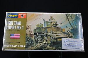 XO069-HASEGAWA-1-72-maquette-tank-char-MB-003-250-US-Army-Light-tank-stuart-Mk-1