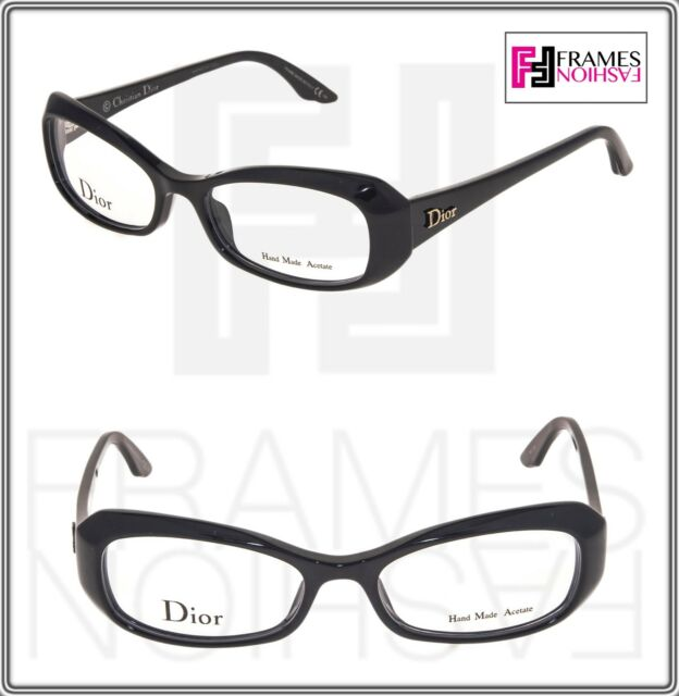 e8b930f32d CHRISTIAN DIOR CD3213 Geometric Black Square 50mm RX Optical Eyeglasses  Women