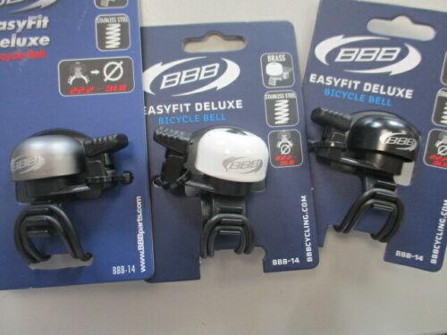 n73 BBB EasyFit Deluxe bbb-14 légère Vélo Sonnette différentes couleurs