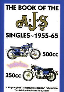 Ajs 350 500 Shop Manual Service Repair Book Singles Ebay