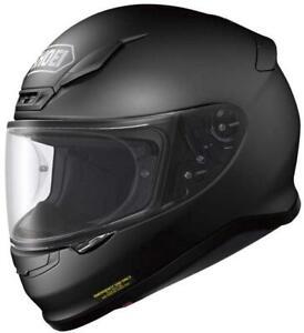 SHOEI NXR  Motorrad Integralhelm in matt schwarz  schwarz matt M
