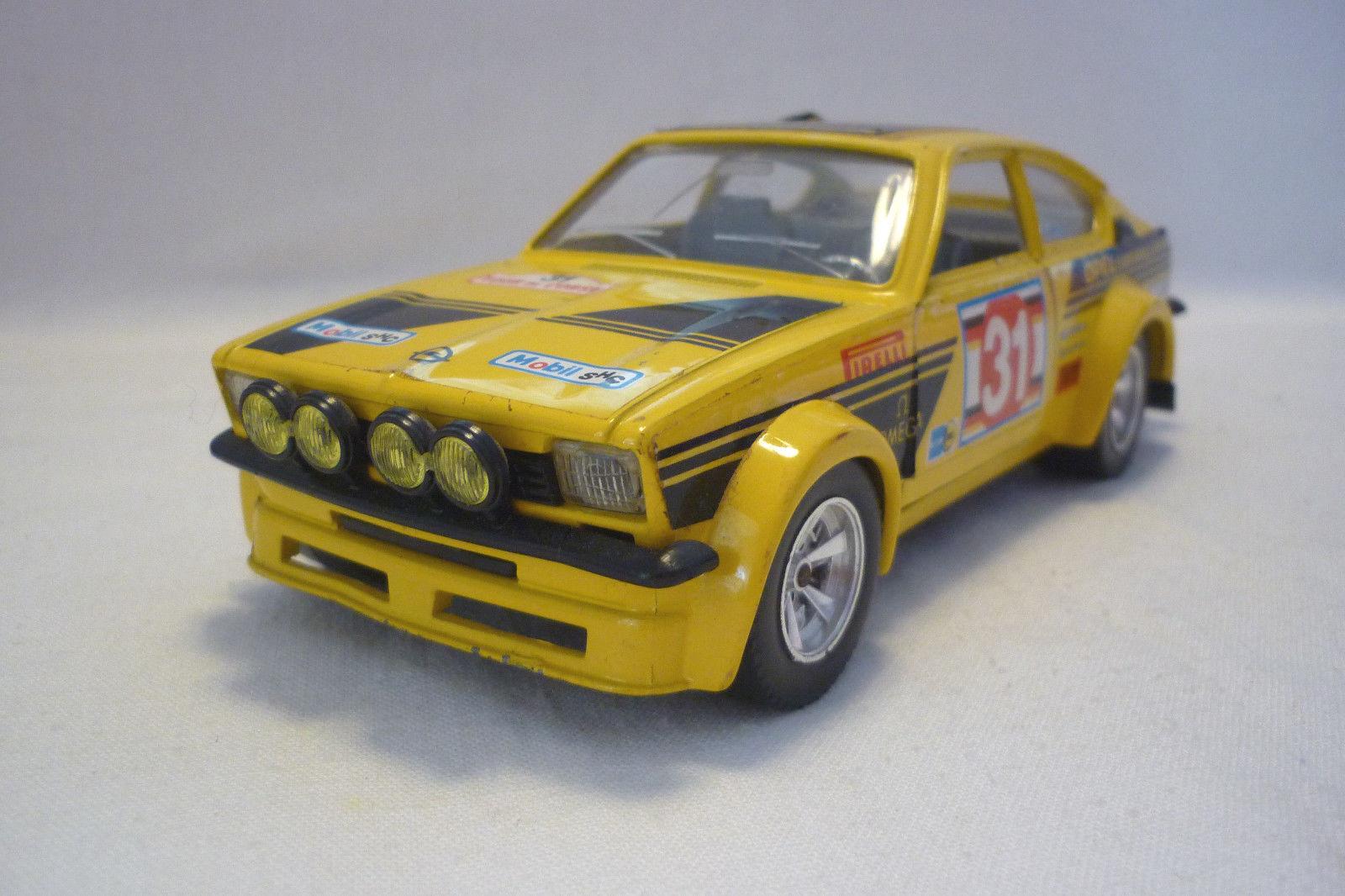 Bburago-Métal modèle-OPEL KADETT GT E Rally  - 1 24 - (5.div-26)  vente discount en ligne
