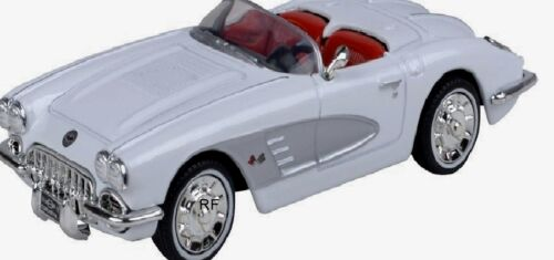 - Motor Max 1958 Modellauto Corvette NEU in OVP 1:43