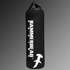 BLACK Punching Heavy Kicking Bag 6ft 150lbs banana bag UNFILLED