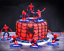 7-PCS-3D-Superhero-Spiderman-Cake-Topper-Cup-Cake-Decorations-Birthday thumbnail 5