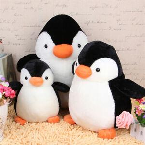 Pingouin-peluche-animal-pelucheux-jouets-doux-cadeau-poupee-oreiller-coussin-ZH