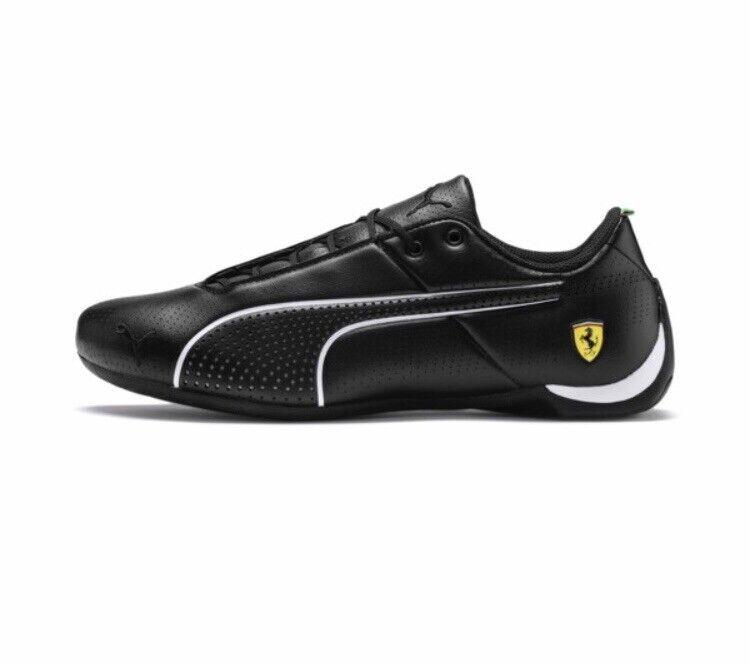 NIB Men's PUMA Size 9 Future Cat Ultra Ferrari  Sneakers Black 306241-02
