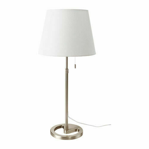 Nyfors Nickel plated Table Lamp Light