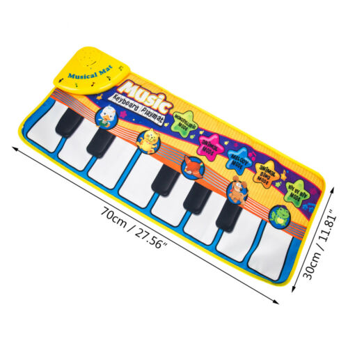 Kids Baby Musical Piano Play Mat Development Educational Soft Toys for Boy/&Girl