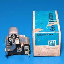 NOS Seat Belt & Headlight Warning Relay GM 9794992 1970-1971 Pontiac Firebird